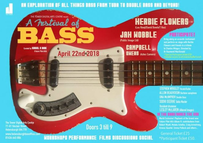 Festival of Bass Herbie Flowers Jah Wobble