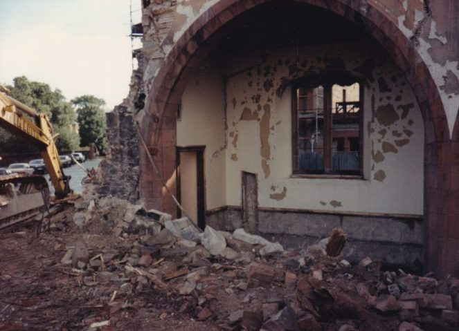 Demolition Merchiston Church